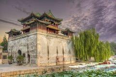 лето дворца фарфора Пекин Стоковое Изображение RF