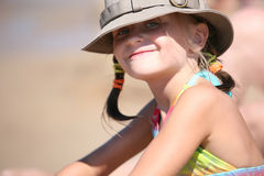 лето дня пляжа Стоковые Фото
