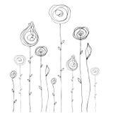 лето doodle предпосылки милое иллюстрация вектора