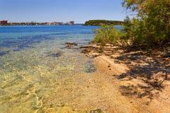 Лето Ionian побережье Salento: Порту Cesareo (Lecce) - ИТАЛИЯ (Apulia) - стоковое изображение