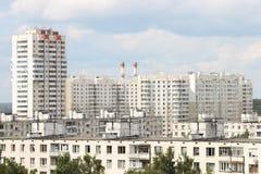 лето moscow России городского пейзажа Стоковая Фотография RF