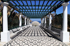 лето rhodes роскошного курорта острова Греции Стоковое Фото