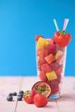 лето smoothie плодоовощ Стоковая Фотография