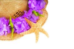 лето starfish шлема Стоковая Фотография