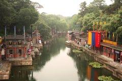 лето suzhou улицы дворца Пекин Стоковое фото RF