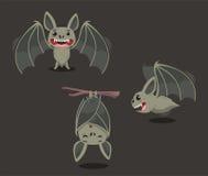 Летучая мышь установила 1 иллюстрация вектора