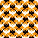 летучая мышь halloween безшовный иллюстрация вектора