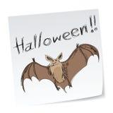 летучая мышь halloween Стоковое Изображение