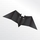Летучая мышь Origami Стоковое Изображение RF