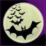 Летучие мыши хеллоуина иллюстрация вектора