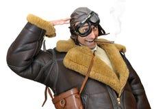 летчик-истребитель Стоковые Изображения RF