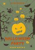 Летчик партии хеллоуина страшный r бесплатная иллюстрация
