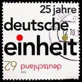 25 лет немецкого воссоединения, serie, около 2015 стоковые изображения