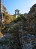 Лефкас, замок 1 Стоковые Фото