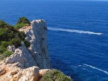 Лефкас, скалы 2 Стоковые Фотографии RF