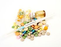 Лечение для заболевания стоковая фотография rf