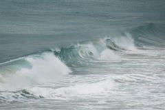 Лечить волну в океане Стоковые Изображения RF