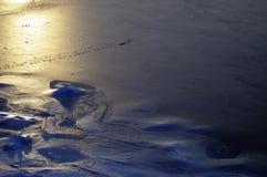 Лед бирюзы Стоковое Изображение