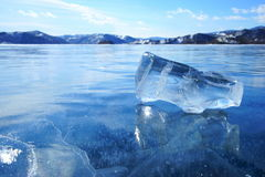 Лед весны Стоковые Изображения RF