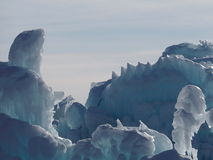 Лед в зиме Стоковые Изображения RF