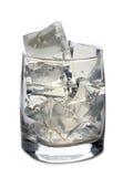 Лед в стекле 4 Стоковое фото RF