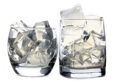 Лед в стекле 5 Стоковые Фото