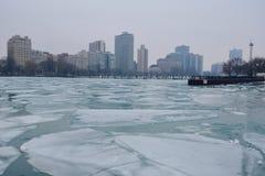 Лед гавани Стоковая Фотография