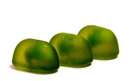 Леденцы на палочке конфеты изолированные на белизне Стоковая Фотография RF