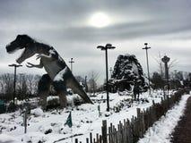 Лед динозавров Стоковое Изображение