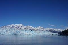 Ледистые горы в Аляске Стоковая Фотография