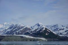 Ледистые горы в леднике Аляски Стоковое Изображение RF