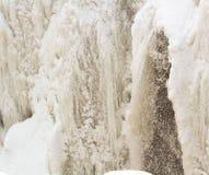 Ледистый водопад Стоковые Фото