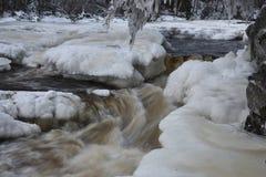 Лед и вода Стоковая Фотография RF