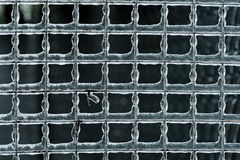Лед на загородке Стоковая Фотография RF