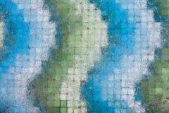 Лед над мозаикой Стоковая Фотография RF
