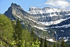 Ледники Монтаны Стоковые Фото