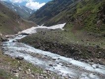 Ледники плавят Стоковые Изображения RF
