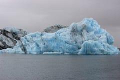 Ледниковое озеро Исландии Стоковые Фотографии RF