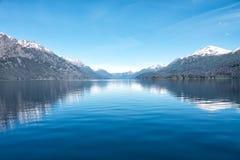 Ледниковое озеро, Патагония Стоковое Изображение