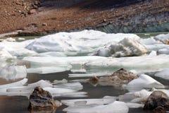 Ледниковое озеро 2 Стоковые Фото