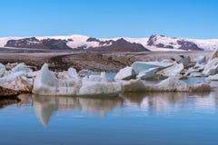 Ледник айсберга Стоковое Фото