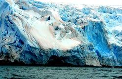 Ледник Антарктика Стоковые Фотографии RF
