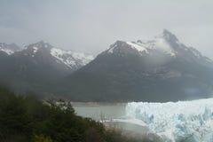 Ледник Аргентина Perrito Moreno Стоковое Изображение RF