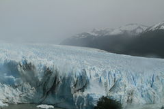Ледник Аргентина Perrito Moreno Стоковые Фотографии RF
