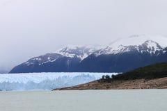 Ледник в Аргентине Стоковые Фотографии RF