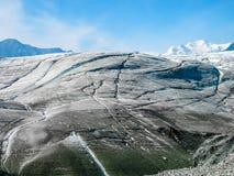 Ледник в Аляске Стоковые Изображения RF