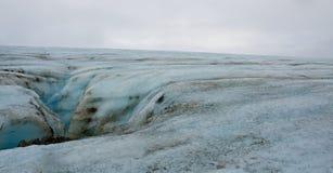 Ледник в осени, Исландия Votnajokull Стоковое Изображение RF
