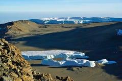 Ледник Килиманджаро Стоковые Фото