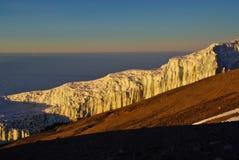 Ледник Килиманджаро Стоковая Фотография
