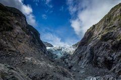 Ледник Новая Зеландия Frantz Иосиф Стоковые Фотографии RF